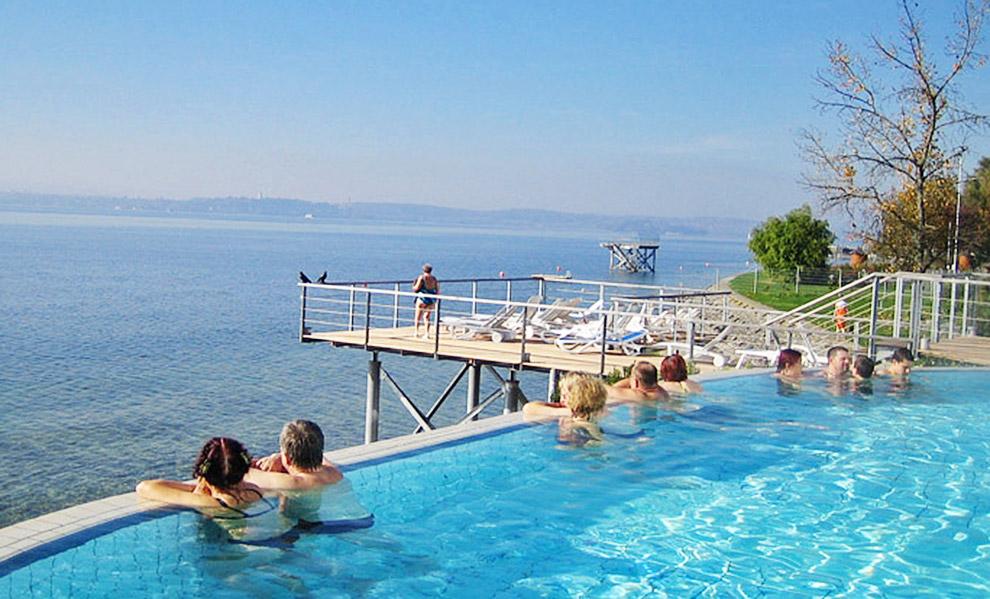 Schwimmbad Thermalbad Am Bodensee Spocker S Ferienhof Urlaub